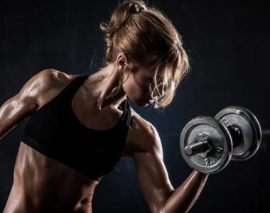 women who weight train