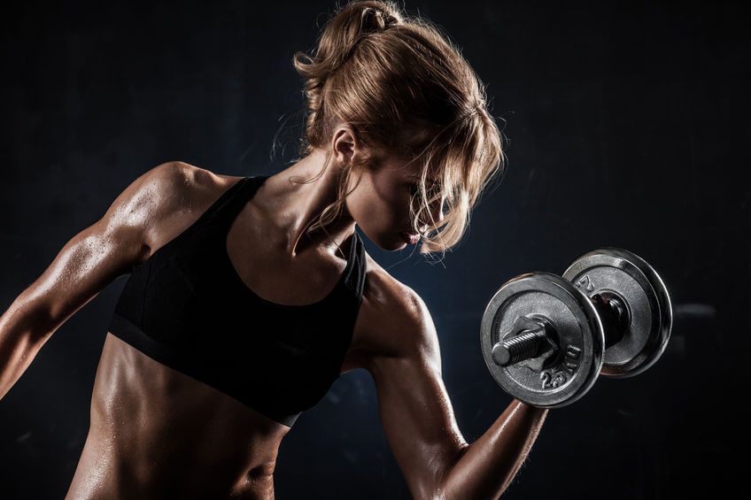 women who weight train